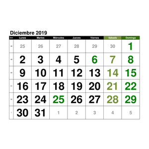 Plantillas De Calendarios Gratis Plantillas Excel Com