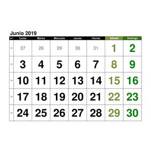 Calendario Agosto 2019 Numeros Grandes.Plantillas De Calendarios Gratis Plantillas Excel Com