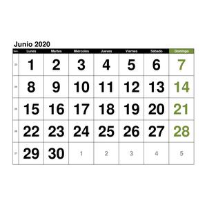 Calendario Chile 2020.Plantillas De Calendarios Gratis Plantillas Excel Com